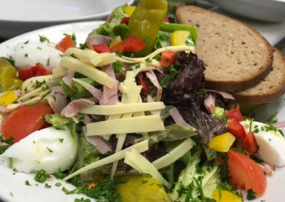 gasthaus zur gerste salatteller