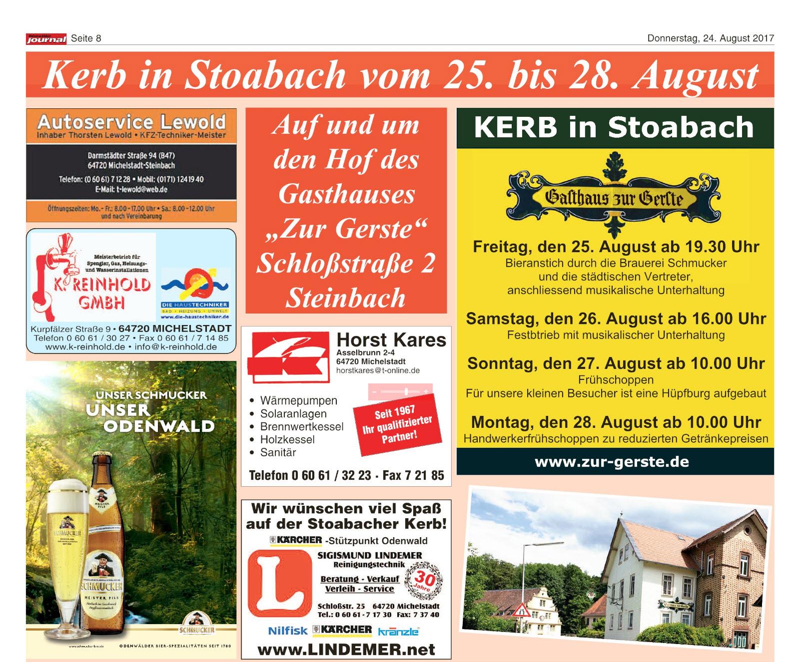 kerb-in-steinbach