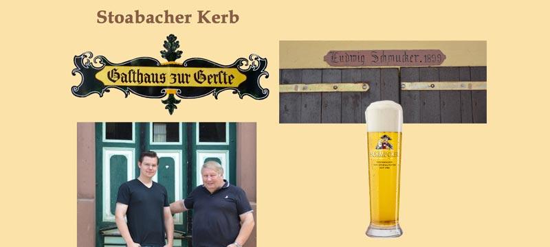 Steinbacher Kerb 2017