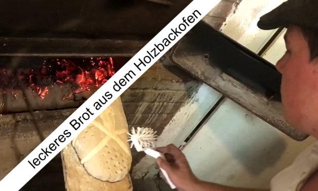 Brot aus unserem Holzbackofen