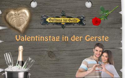 Valentinstag in der Gerste