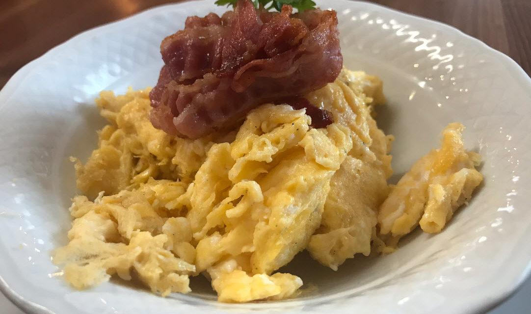 Frühstück in der Gerste